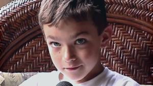 Nico Calabria bambino