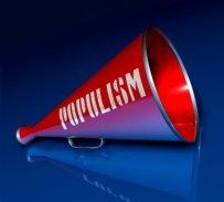 Il megafono del populista