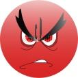 Smiley anger