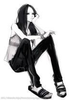 Fashion anime