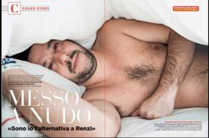 Salvini Desnudo servizio interno