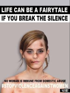 Emma Watson contro la violenza