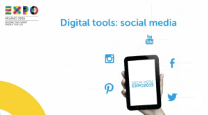 EXPO sui social media