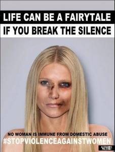Gwyneth Paltrow contro la violenza