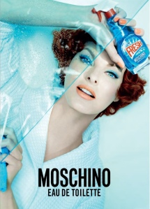 Moschino Fresh annuncio stampa
