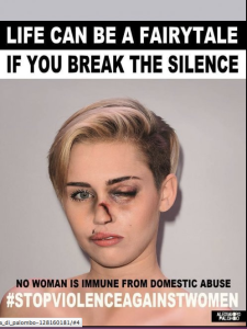 Myley Cyrus contro la violenza