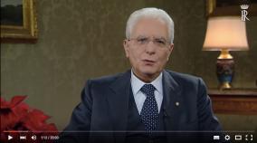 Discorso di fine anno Mattarella
