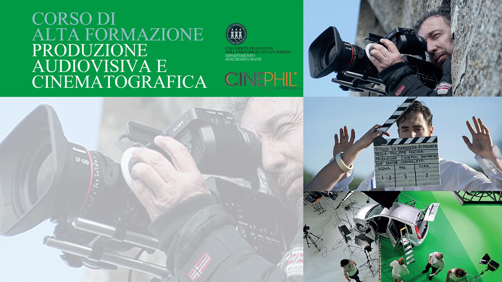 Corso in Produzione Audiovisiva e Cinematografica: aperte iscrizioni ai singoli moduli