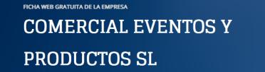 comercial-eventos-y-productos-sl